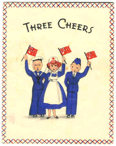 WW2 Birthday cards