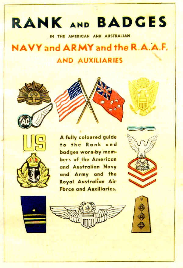 Booklet produced in WW2