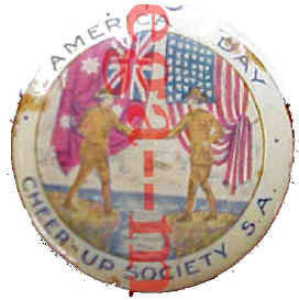 America Day badge